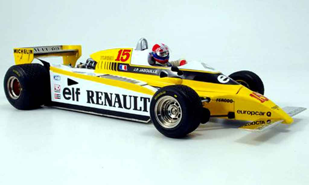 Renault F1 1/18 Exoto re-20 turbo no.15 sieger gp osterreich 1980 miniature