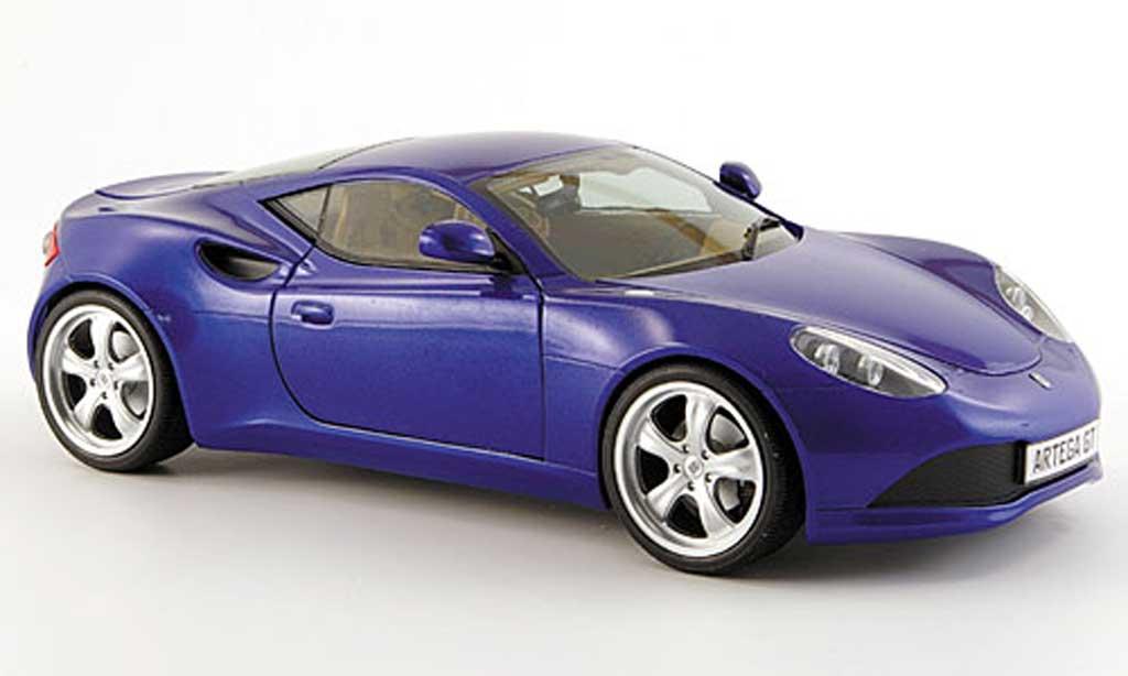 Artega GT 1/18 Revell bleu coupe 2007 diecast model cars