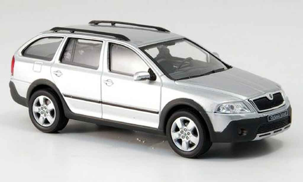 skoda octavia combi scout gray metallized abrex diecast. Black Bedroom Furniture Sets. Home Design Ideas