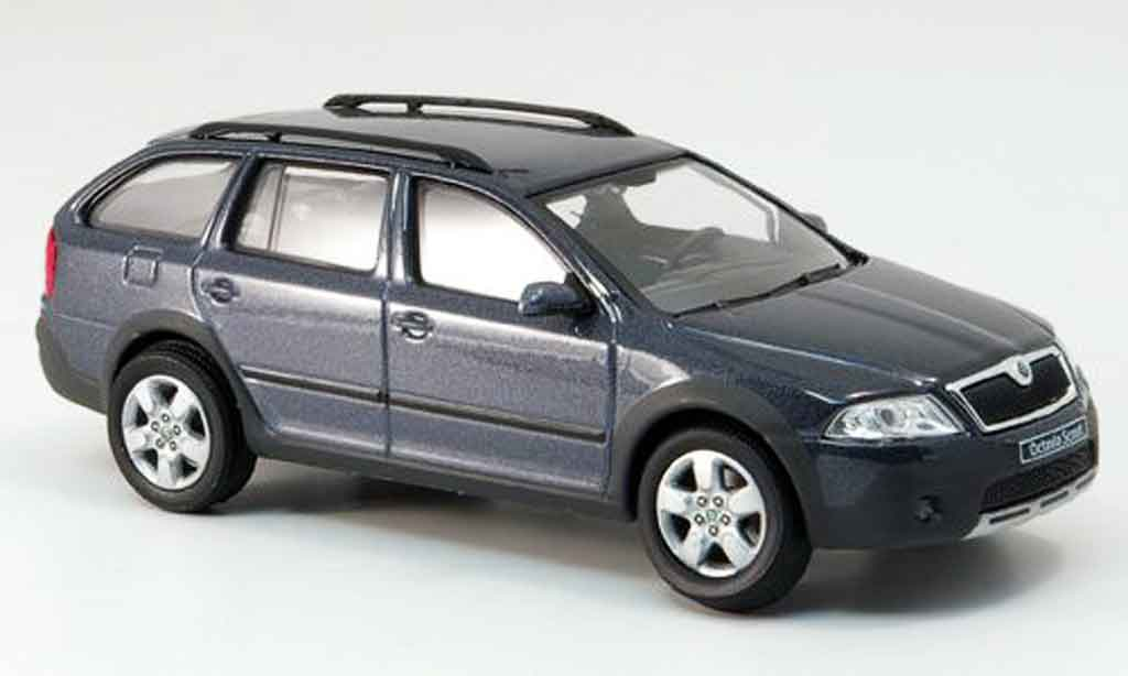 skoda octavia combi scout gray abrex diecast model car 1. Black Bedroom Furniture Sets. Home Design Ideas