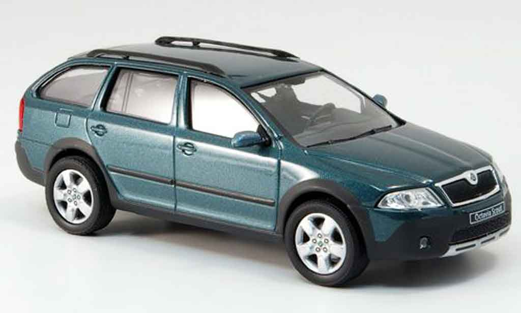 skoda octavia combi scout green abrex diecast model car 1. Black Bedroom Furniture Sets. Home Design Ideas