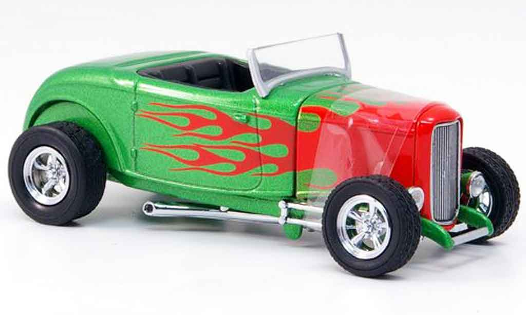 Ford 1932 1/43 Eagle Hot Rod grun coche miniatura