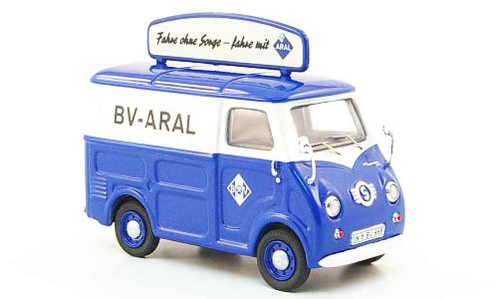 Goggomobil TL 1/43 Premium Cls 250 Aral Kastenwagen miniature