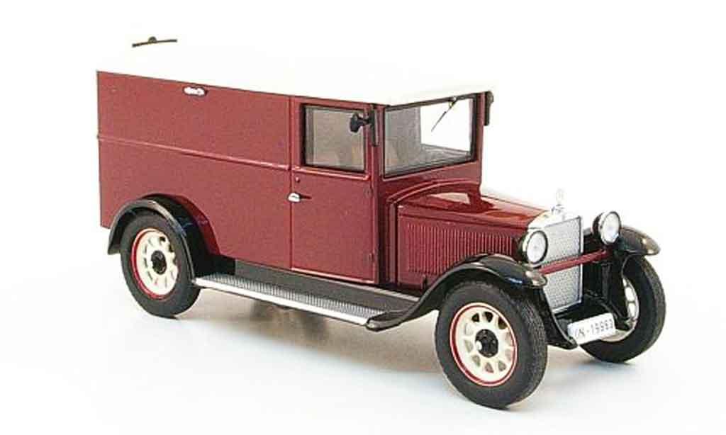 Mercedes L1000 1/43 Premium Cls Express rouge beige Kastenwagen miniature