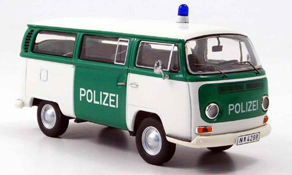 Volkswagen Combi 1/43 Premium Cls t2a bus police miniature