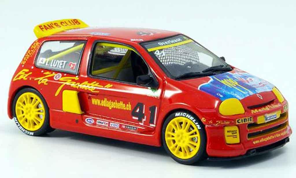 Renault Clio V6 1/43 Eagle sport no.41 clio trophy 2000 miniature