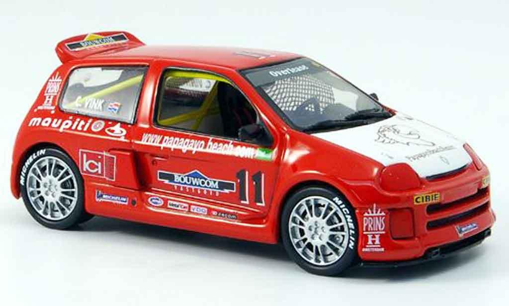 Renault Clio V6 1/43 Eagle sport no.11 clio trophy 2000 miniature