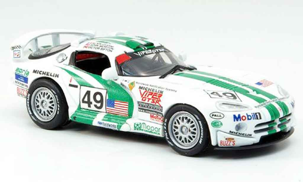 Dodge Viper GTS R 1/43 Eagle No.49 24h Le Mans 1996 miniature