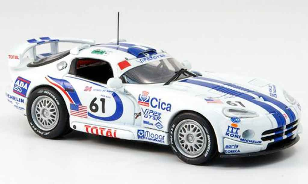dodge viper gts r miniature 24h le mans 1997 eagle 1 43 voiture. Black Bedroom Furniture Sets. Home Design Ideas