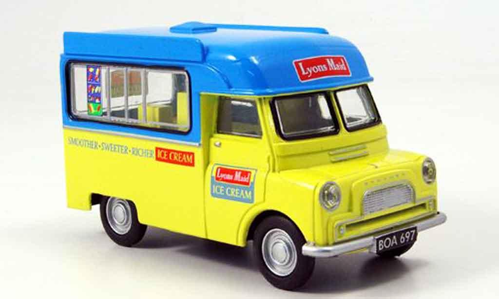 Bedford CA 1/43 Oxford Kasten Lyons Maid Eiswagen miniature