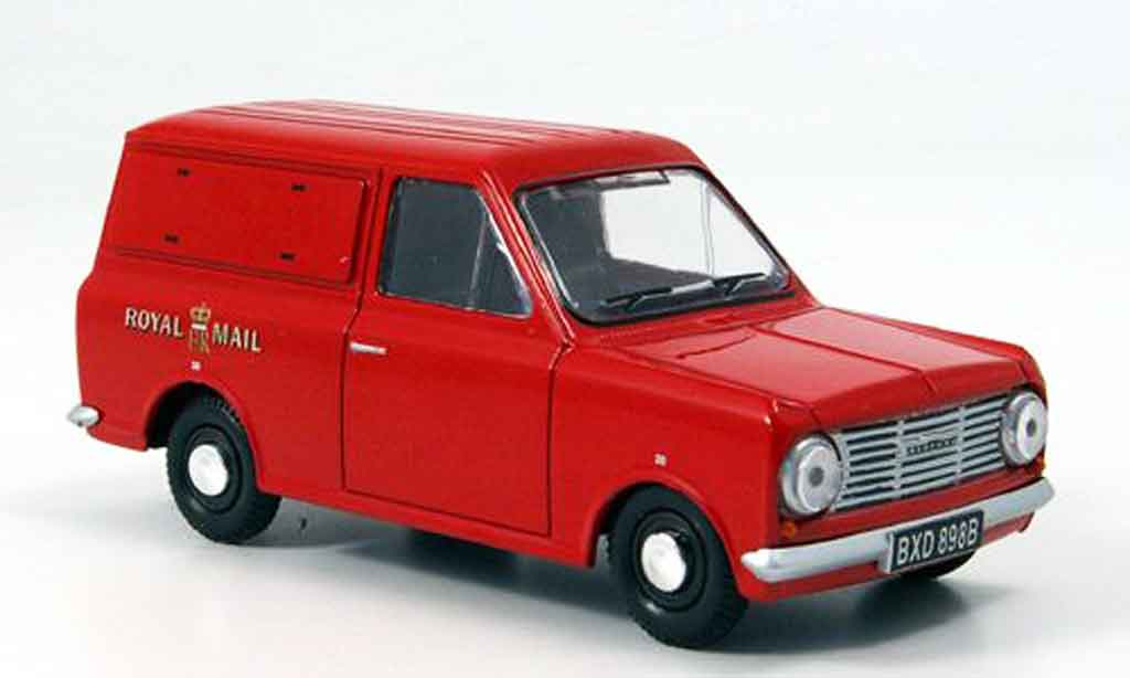 Bedford HA 1/43 Oxford rouge Royal Mail Kasten miniature