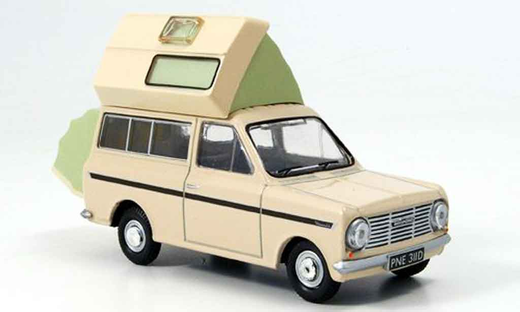 Bedford HA 1/43 Oxford Roma beige Campingbus miniature