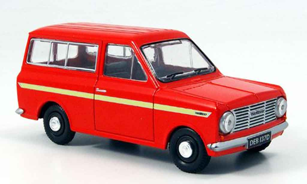 Bedford HA 1/43 Oxford Beagle orange Kombibus miniature