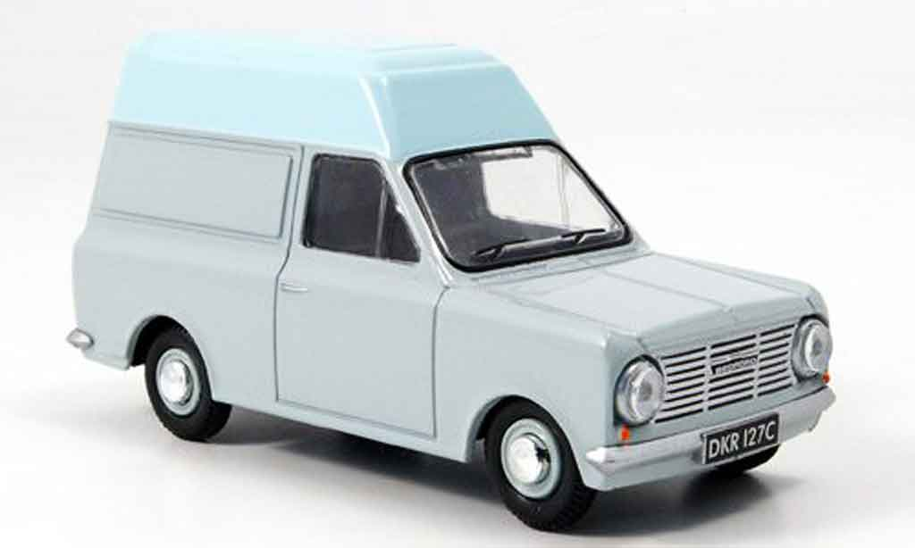 Bedford HA 1/43 Oxford High Top grise blanche Hochdachkasten miniature