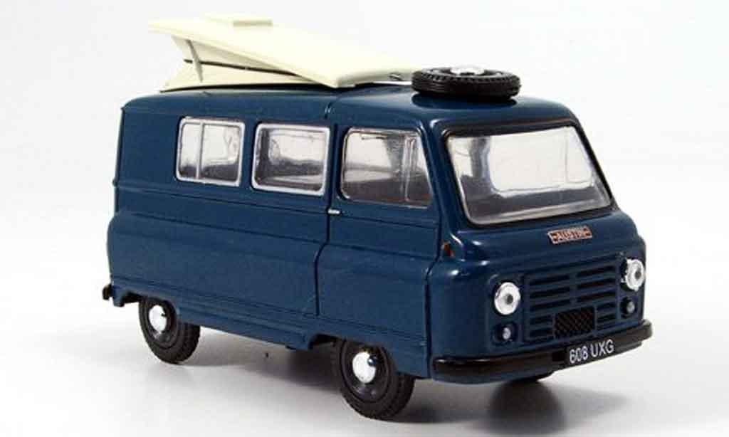 Austin J2 1/43 Oxford Camper bleu Campingdach geoffnet miniature