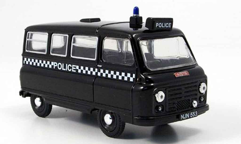 Austin J2 1/43 Oxford Police police Fensterbus miniature