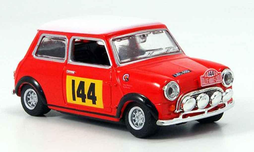 Austin Mini Rallye 1/43 Oxford No.144 Monte Carlo 1967 miniature