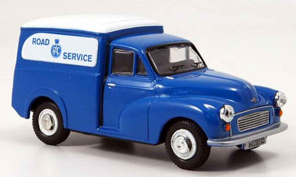 Morris Minor 1/43 Oxford Van bleu blanche Kasten RAC Road Service miniature