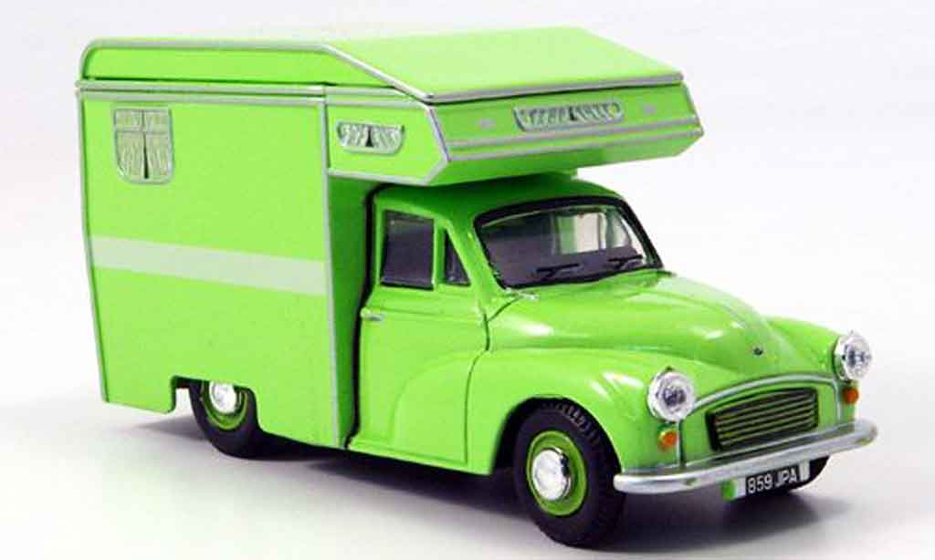 Morris Minor 1/43 Oxford Van Camper grun Wohnmobil miniature