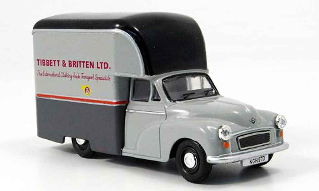 Morris Minor 1/43 Oxford Gown Tibbett & Britten Ltd. Hochdachkasten miniature