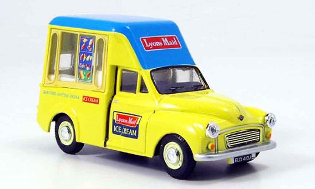 Morris Minor 1/43 Oxford Van Lyons Maid Hochdach Eiswagen miniature