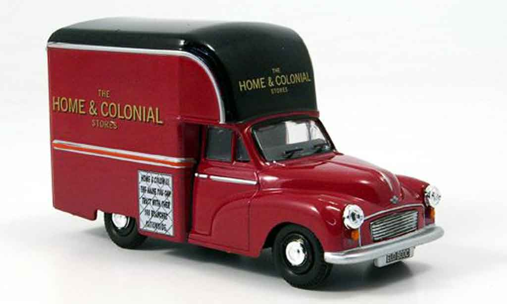 Morris Minor 1/43 Oxford Gown Home & Colonial Hochdach Kastenwagen miniature