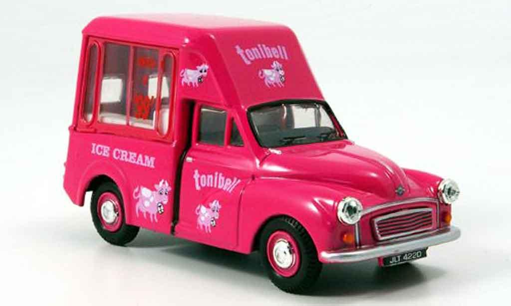 Morris Minor 1/43 Oxford Van pink Tonibell Hochdach Eiswagen miniature