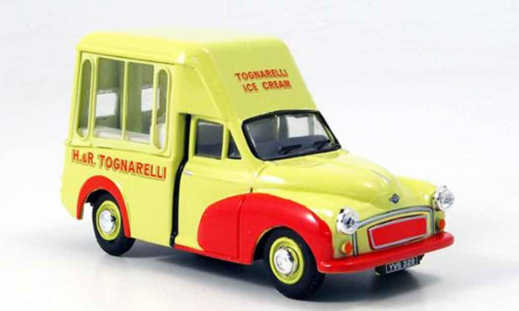 Morris Minor 1/43 Oxford Van Tognarelli Ice Cream Hochdach Eiswagen miniature