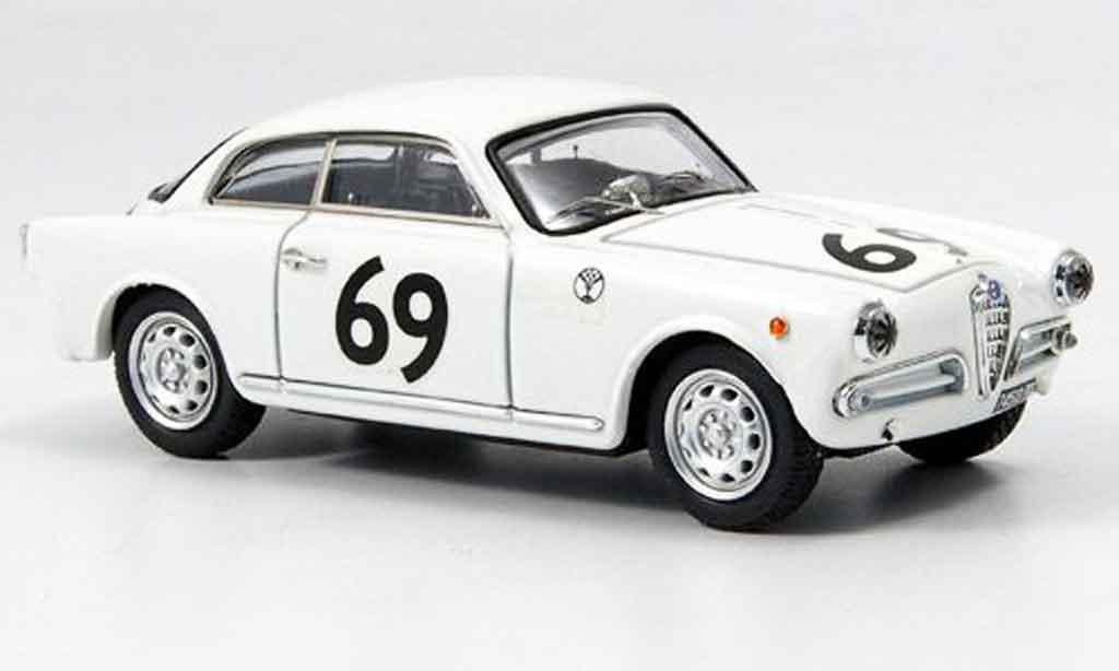 Alfa Romeo Giulietta Sprint 1/43 Bang veloce no.69 peroglio zeltweg 1957 miniature
