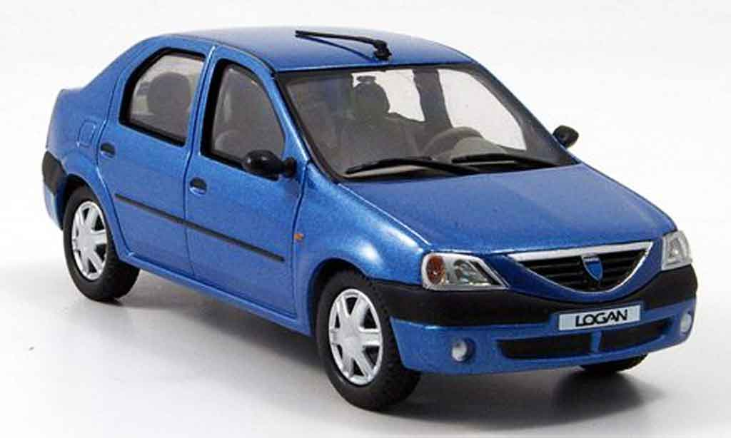 renault dacia logan miniature bleu eligor 1 43 voiture. Black Bedroom Furniture Sets. Home Design Ideas