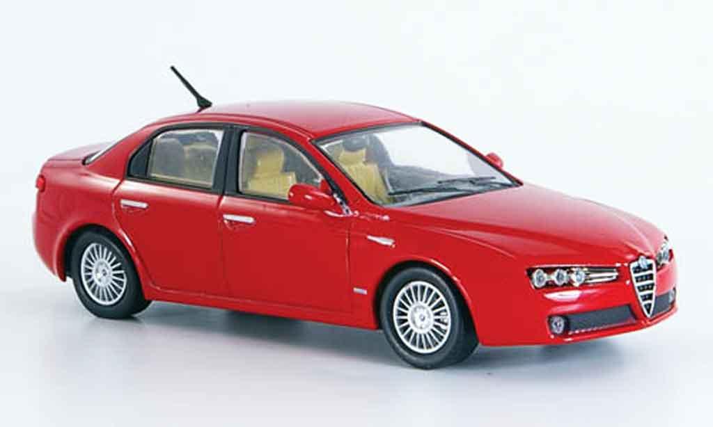 Alfa Romeo 159 1/43 M4 rouge b quality 2005 miniature