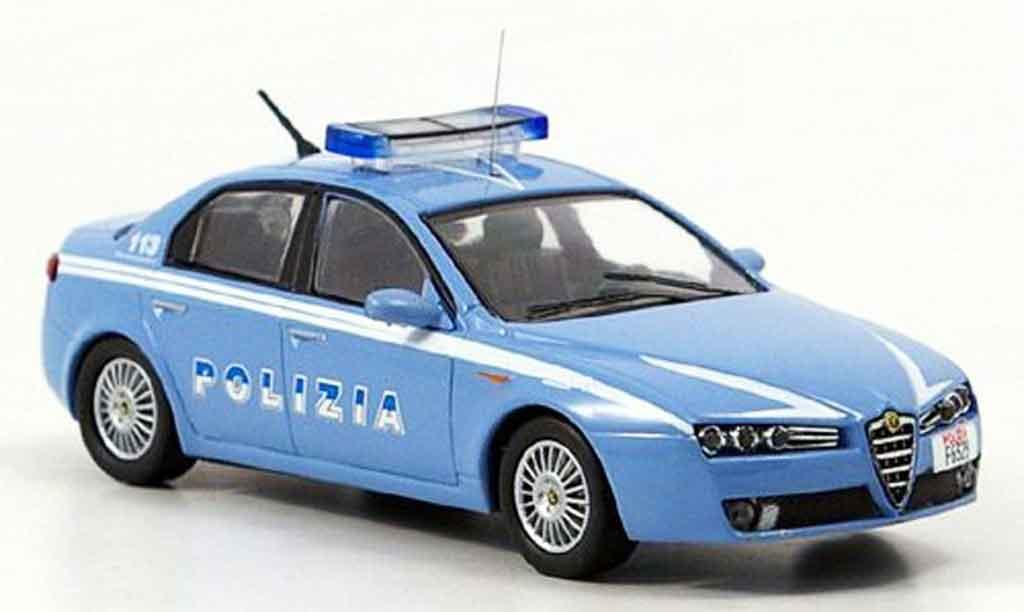 Alfa Romeo 159 1/43 M4 police b quality 2005 miniature