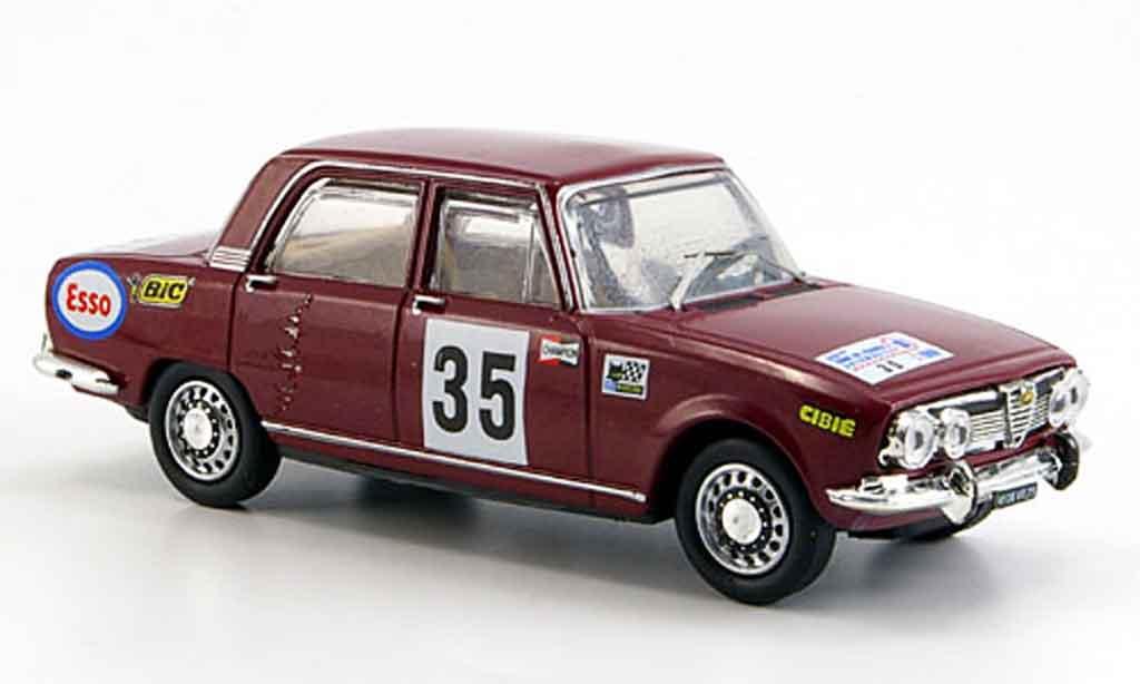 Alfa Romeo 1750 1/43 M4 berline no.35 tour de france b quality 1969 miniature