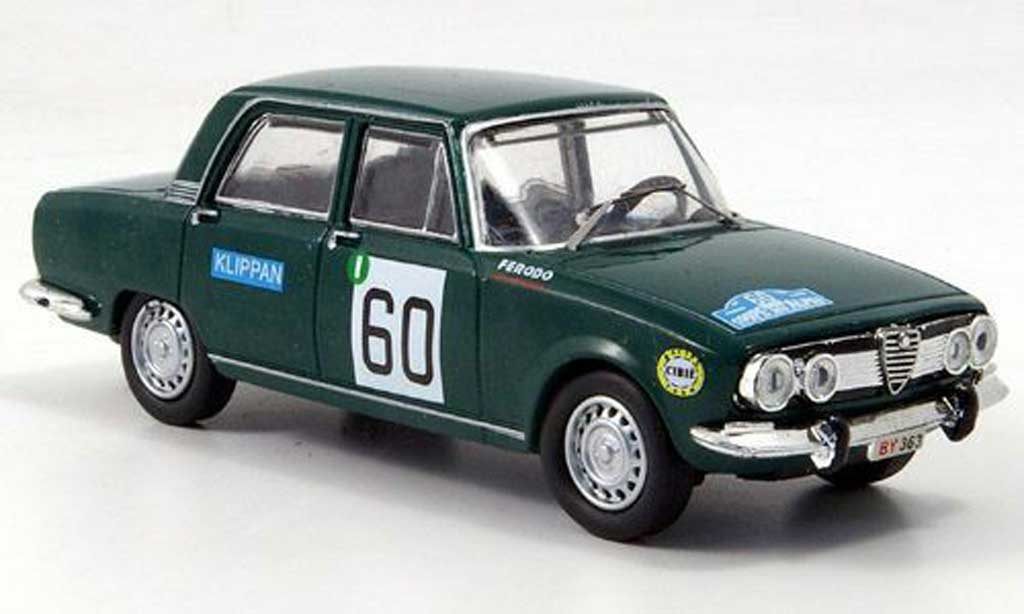 Alfa Romeo 1750 1/43 M4 Berlina No.60 Alpen Rally B-Quality 1968 miniature