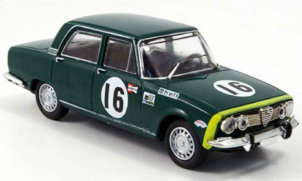 Alfa Romeo 1750 1/43 M4 berline no.16 24h spa b quality 1968 miniature