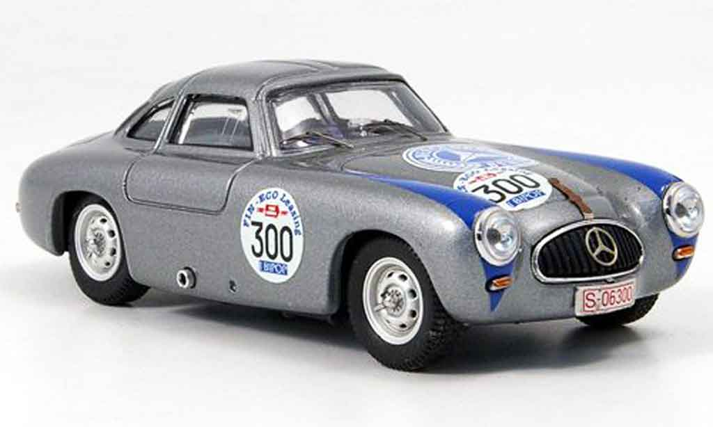 Mercedes 300 SL 1/43 Bang SL Coupe No. Mille Miglia Recall 1952 miniature