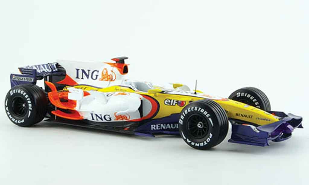 Renault F1 1/18 Norev r28 f1 team f.alonso 2008 miniature