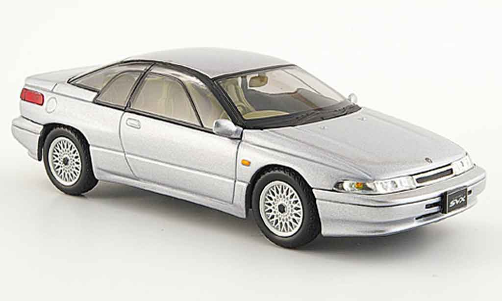Subaru Alcyone Svx Gray Metallized 1991 Norev Diecast Model Car 1 43 Buy Sell Diecast Car On