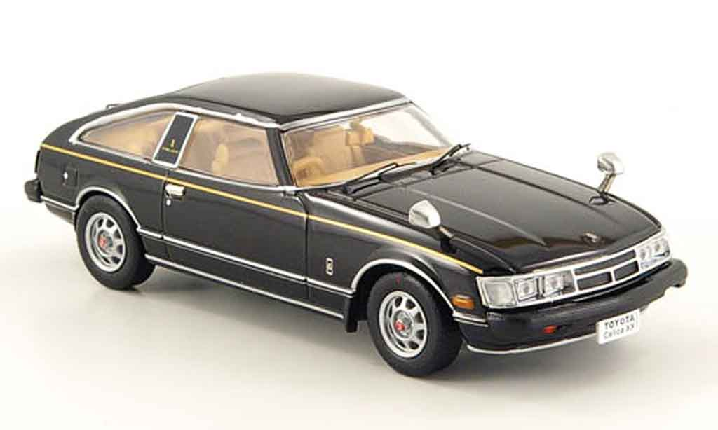 Toyota Celica 1/43 Norev noire 1978 miniature