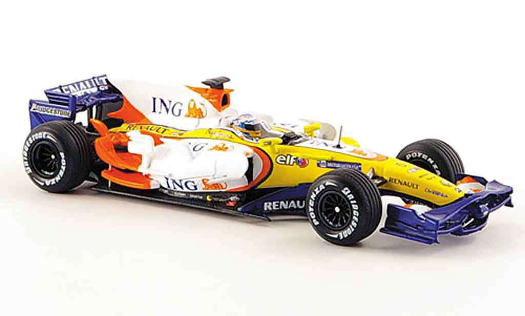 Renault F1 1/43 Norev r28 f 1 team f.alonso 2008 miniature