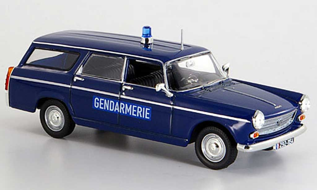 Peugeot 404 Break 1/43 Norev Gendarmerie Polizei 1969 miniature