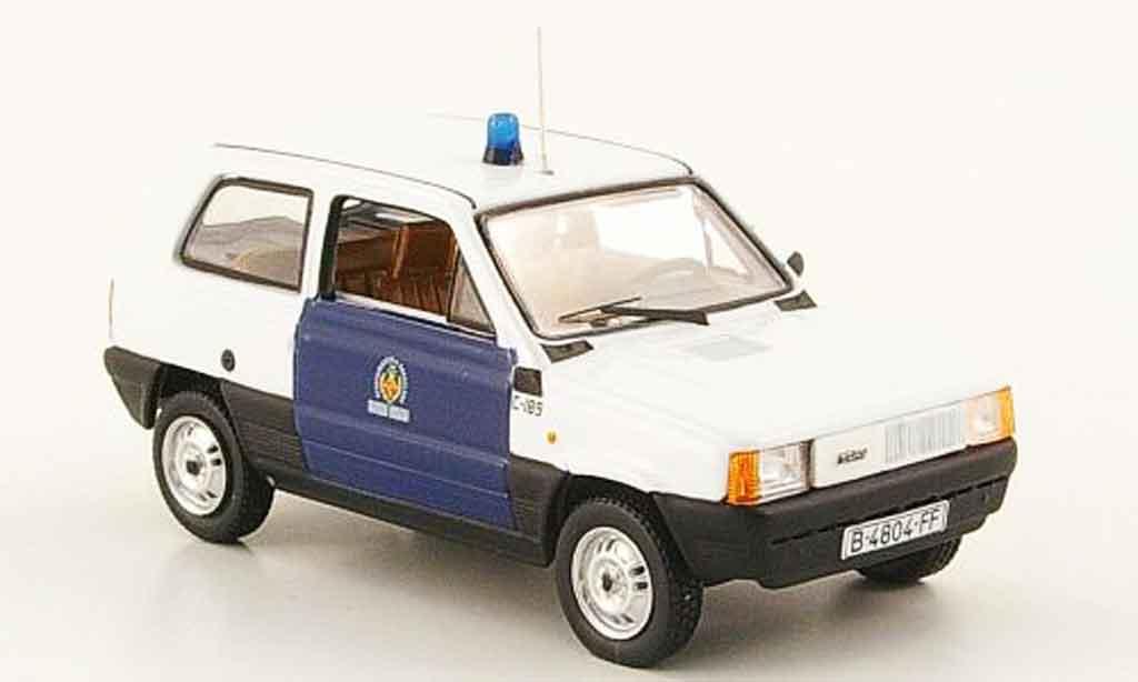 Seat Panda 1/43 Norev guardia urbana police barcelona 1981 miniature