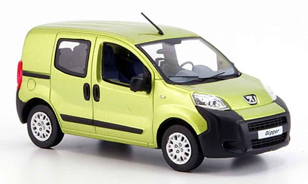 Peugeot Bipper 1/43 Norev tepee jaune avec fenstern 2007