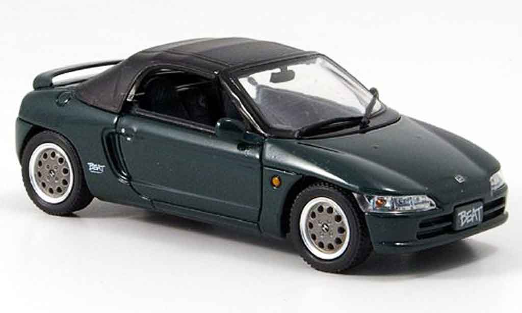 Honda Beat 1/43 Ebbro Version Z grun diecast model cars
