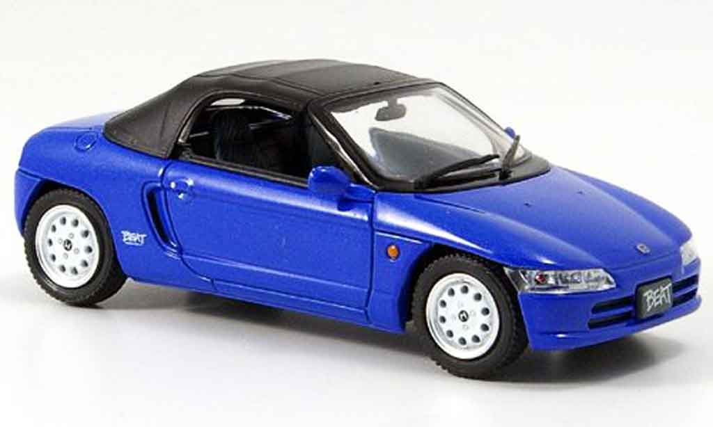 Honda Beat 1/43 Ebbro Version C bleu diecast model cars