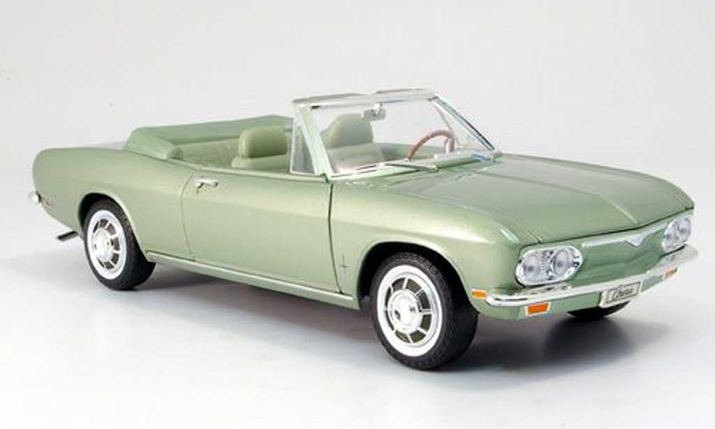 Chevrolet Corvair 1/18 Yat Ming monza convertible grun 1969 miniature