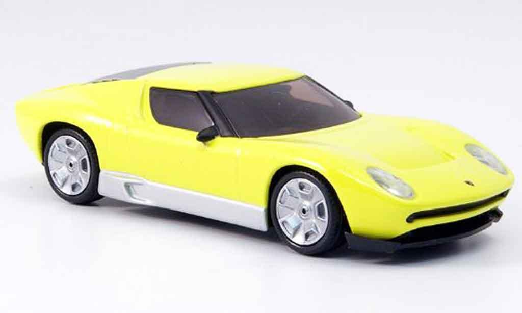 Lamborghini Miura Concept 1/43 Mondo Motors jaune miniature