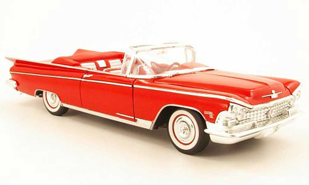 Buick Electra 1/18 Yat Ming 225 convertible rouge 1959 miniature