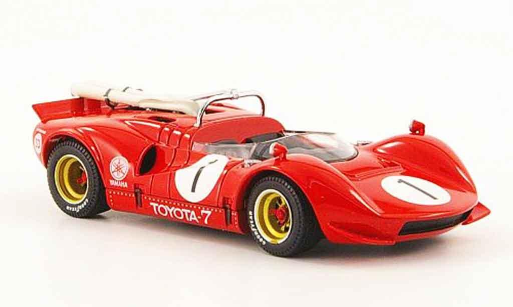 Toyota 7 GP 1/43 Ebbro no.1 rouge japan 1968 miniature