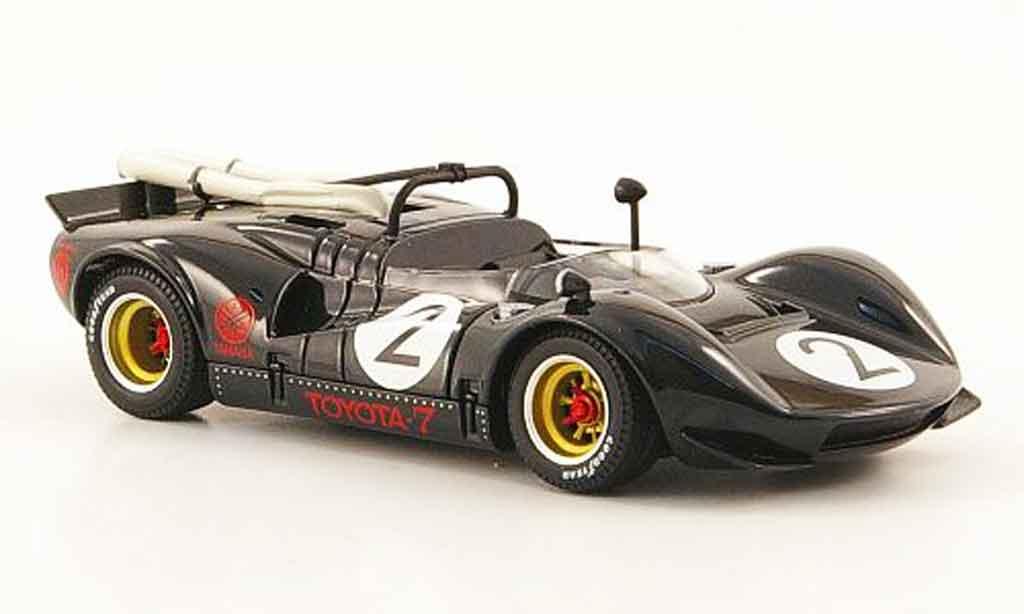 Toyota 7 GP 1/43 Ebbro no.2 noire japan 1968 miniature